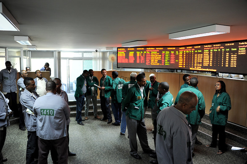 Ethiopia commodity Exchange.