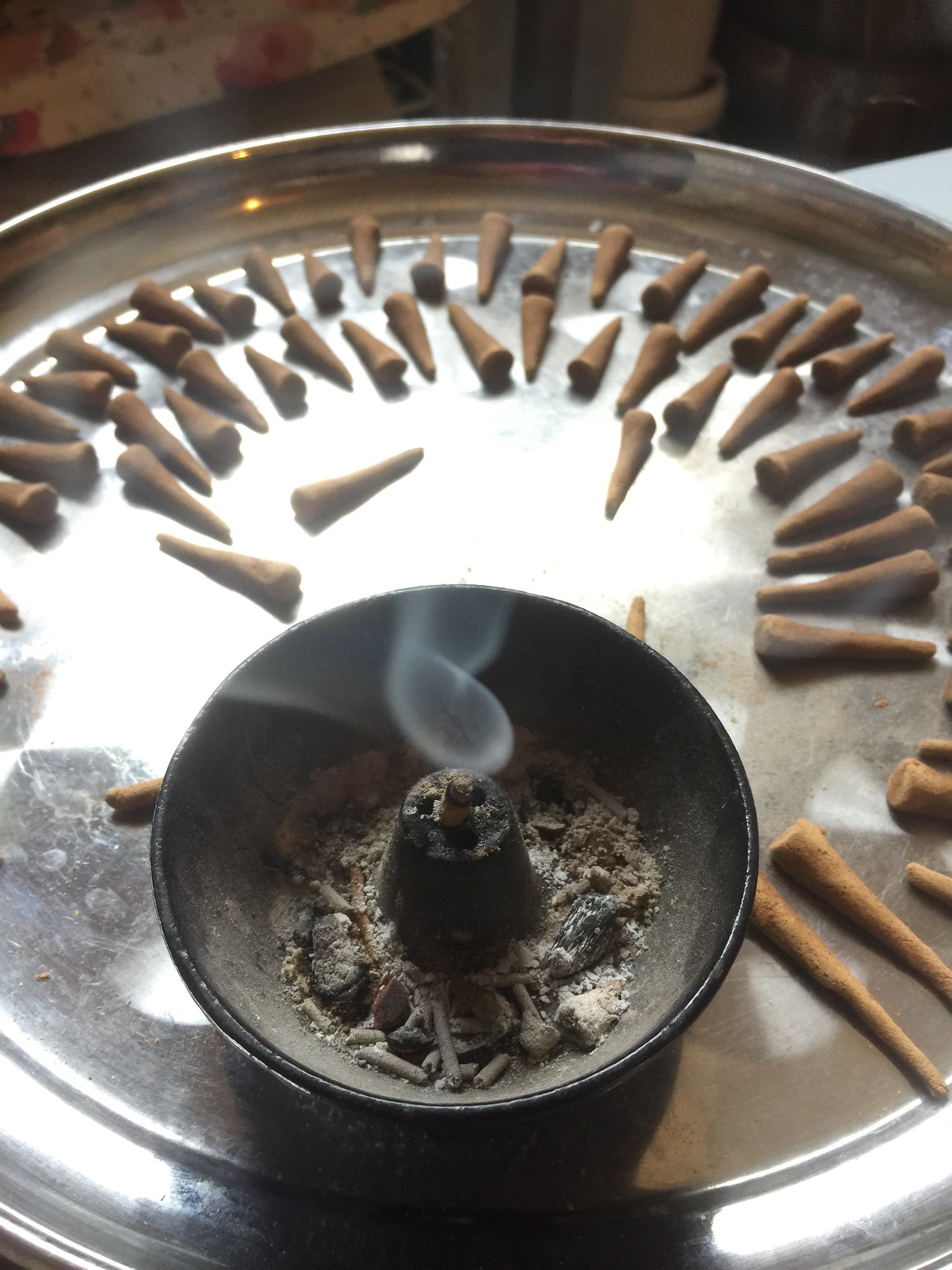 Four Copals Incense Testing