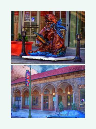 Spokane  Washington  - Spokane Chamber of Commerce - Empire Health Foundation - Contest in Sculpture Bear