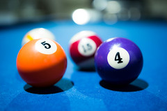 Focused pool 4 and 5 balls