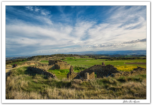 Atardecer en la Sierra de Castiliscar.... **Zaragoza**