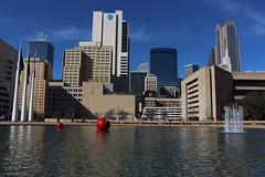 Dallas City Hall Plaza