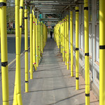 Yellow pole passage
