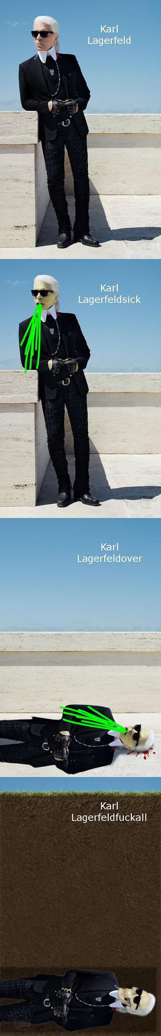 Karl Lagerfeldfuckall b3ta