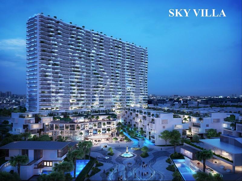 Khu cao tầng Sky Villa