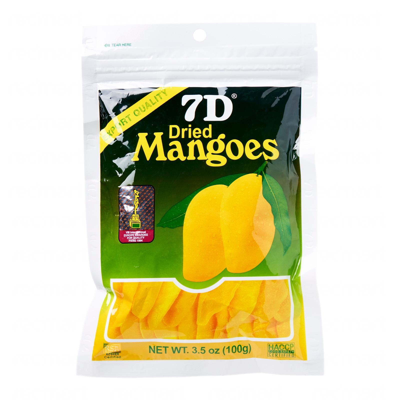 7D芒果乾