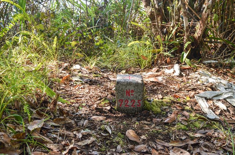 江坡古山三等三角點(# 7225 Elev. 1550 m)