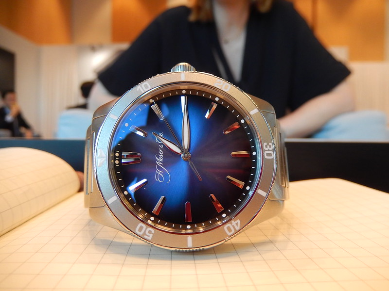 moser - Baselworld 2019 : reportage H.Moser & Cie 33594411878_a7444f6b96_c