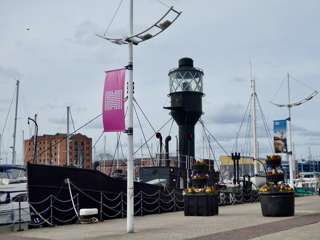 The Spurn Lightship, Hull Marina