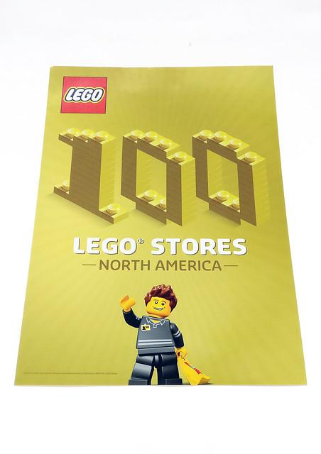 100th North America LEGO Store Minifigure