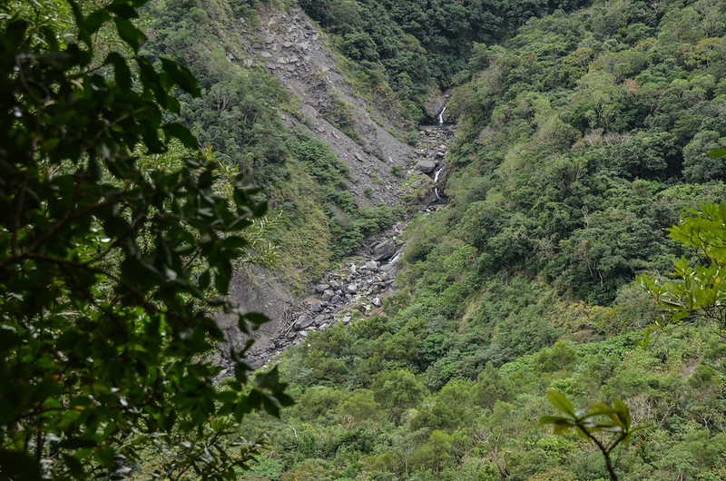 茶留凡山坍方路段 (2)