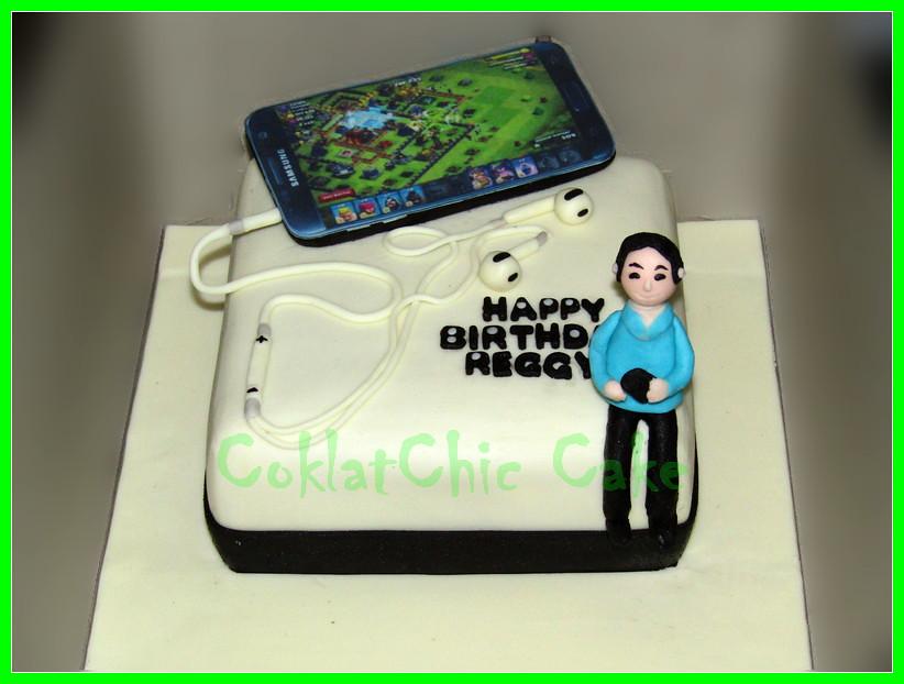 Cake HP SAMSUNG COC REGGY  18 cm