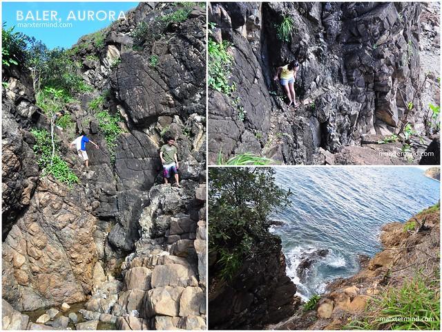 Cliffside in Digisit Beach