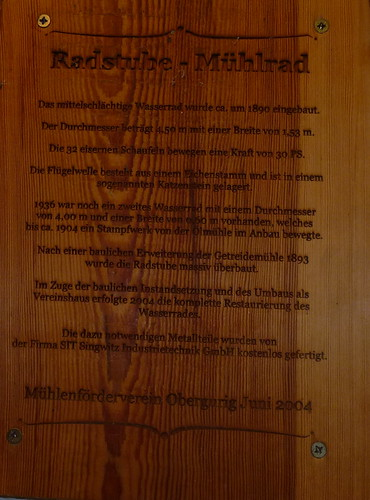 2014.06.12 Mühlrad - Alte Wassermühle - Hauptspree (42)