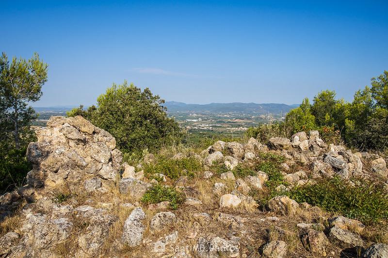 Vistas del Penedès desde Sant Llorenç de la Senabre
