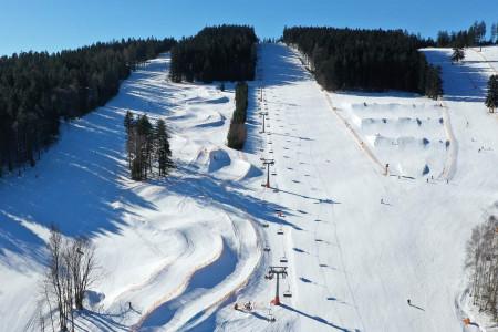 Tipy SNOW tour: Lipno – království dětí