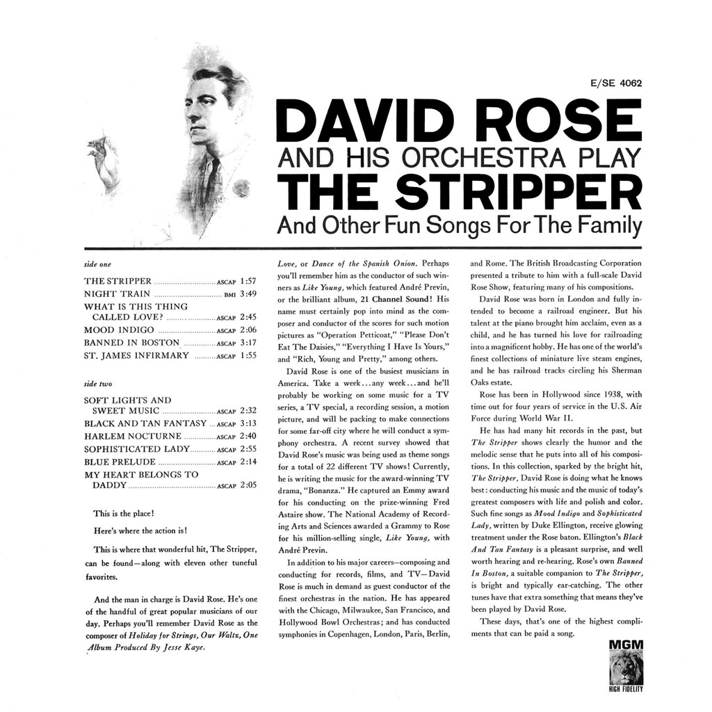 David Rose - The Stripper