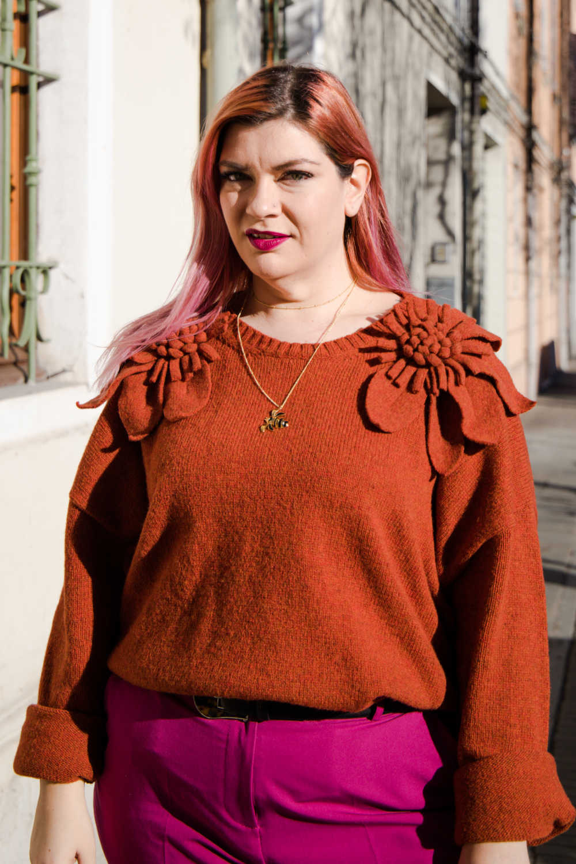 Outfit curvy plus size colori accesi (8)