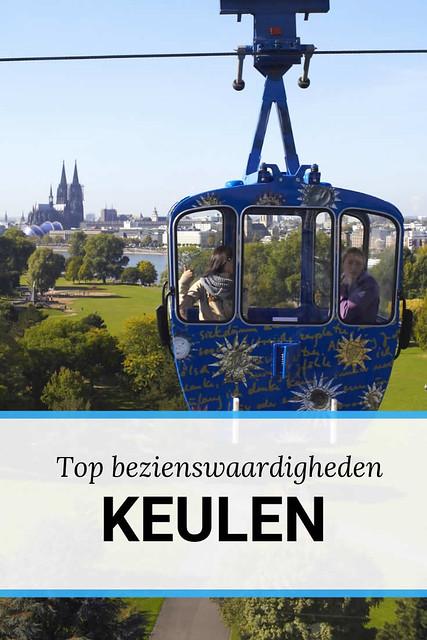 Bezienswaardigheden in Keulen: kabelbaan over de Rijn | Mooistestedentrips.nl