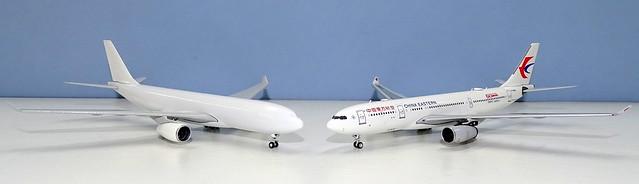 NG Models A330 New Mould vs Panda Models