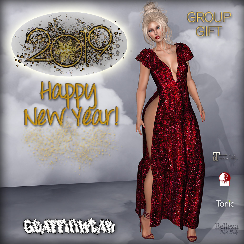 2019 New Year Gown GIFT