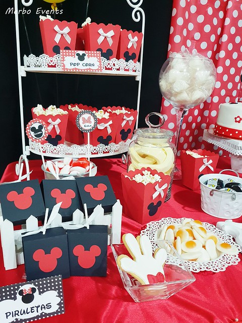 decoracion mickey y minnie Merbo Events