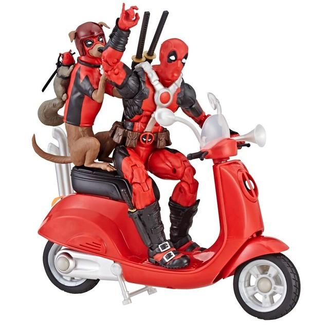 「官圖&販售資訊更新」孩之寶 漫威傳奇系列 6吋收藏人物與交通載具【死侍、X教授】Marvel Legends Series 6-inch-scale figures and vehicles Deadpool、Professor X