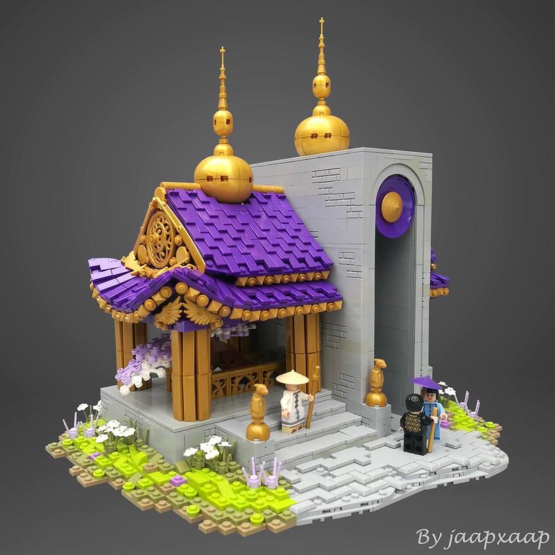Long Hao Temple - Tempio LEGO