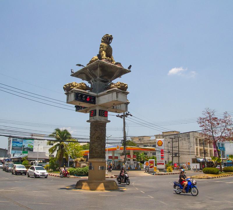Semáforo de Krabi, Tailandia