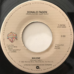 DONALD FAGEN:NEW FRONTIER(LABEL SIDE-B)