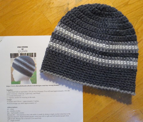 W4W Wool Crocheted Hat