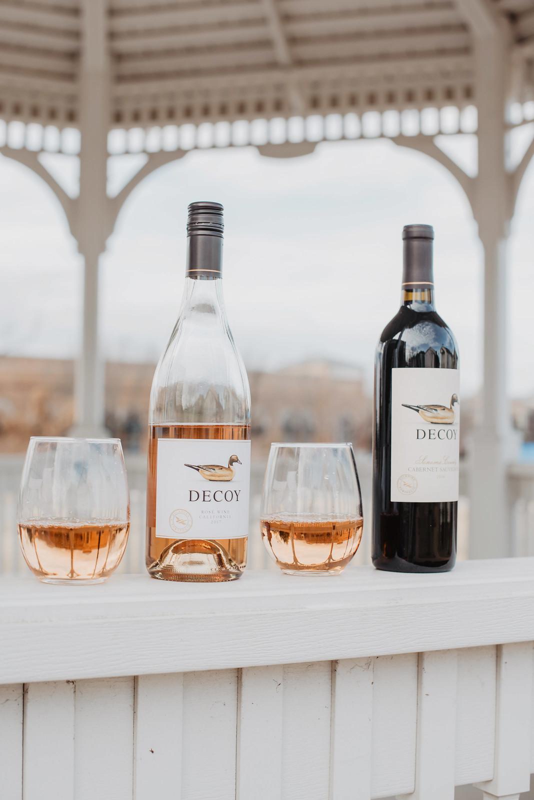 decoy rose wine California