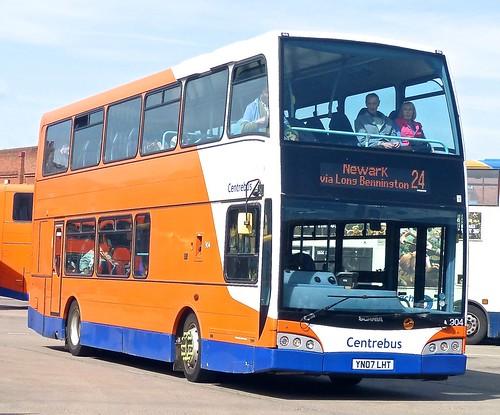 YN07 LHT 'Centrebus' No. 904. Scania N230UD / East Lancs. Olympus on Dennis Basford's railsroadsrunways.blogspot.co.uk'