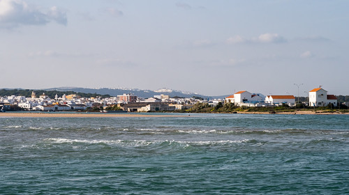 Barbate and Vejer de la Frontera in de the background, Spain