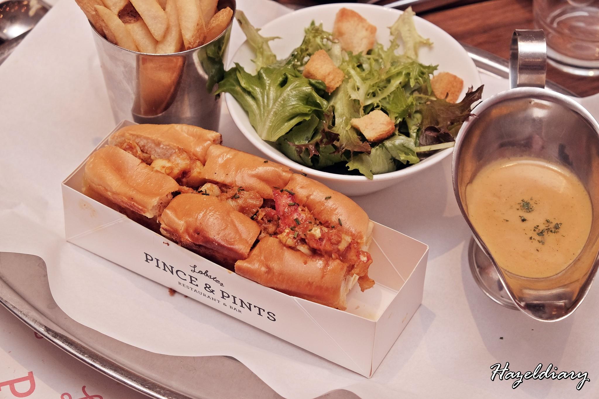 Pince & Pints Duxton Road-Nyonya lobster roll