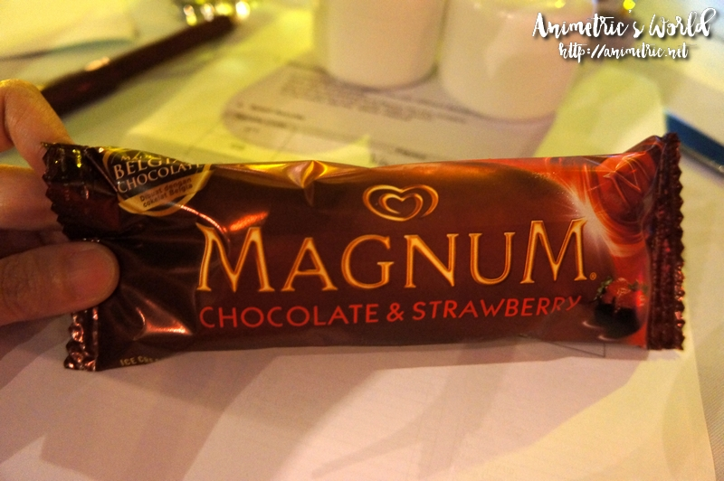 Magnum Chocolate Strawberry