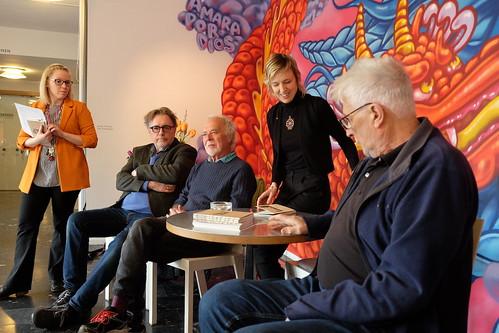 Stefan Teleman presenterar boken Esse et videri på Norrköpings Konstmuseum