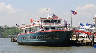 Sightseeing cruise vessel, New York.