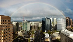 Rainbow. Bellevue, WA.