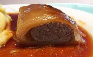 Stuffed Cabbage Roll - Lateral cut / Krautwickerl - Querschnitt
