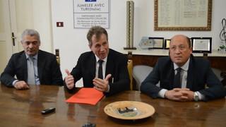 Commissari Turi - Il dott. Fantetti, il Commissario Cantadori e il dott. Giangrande