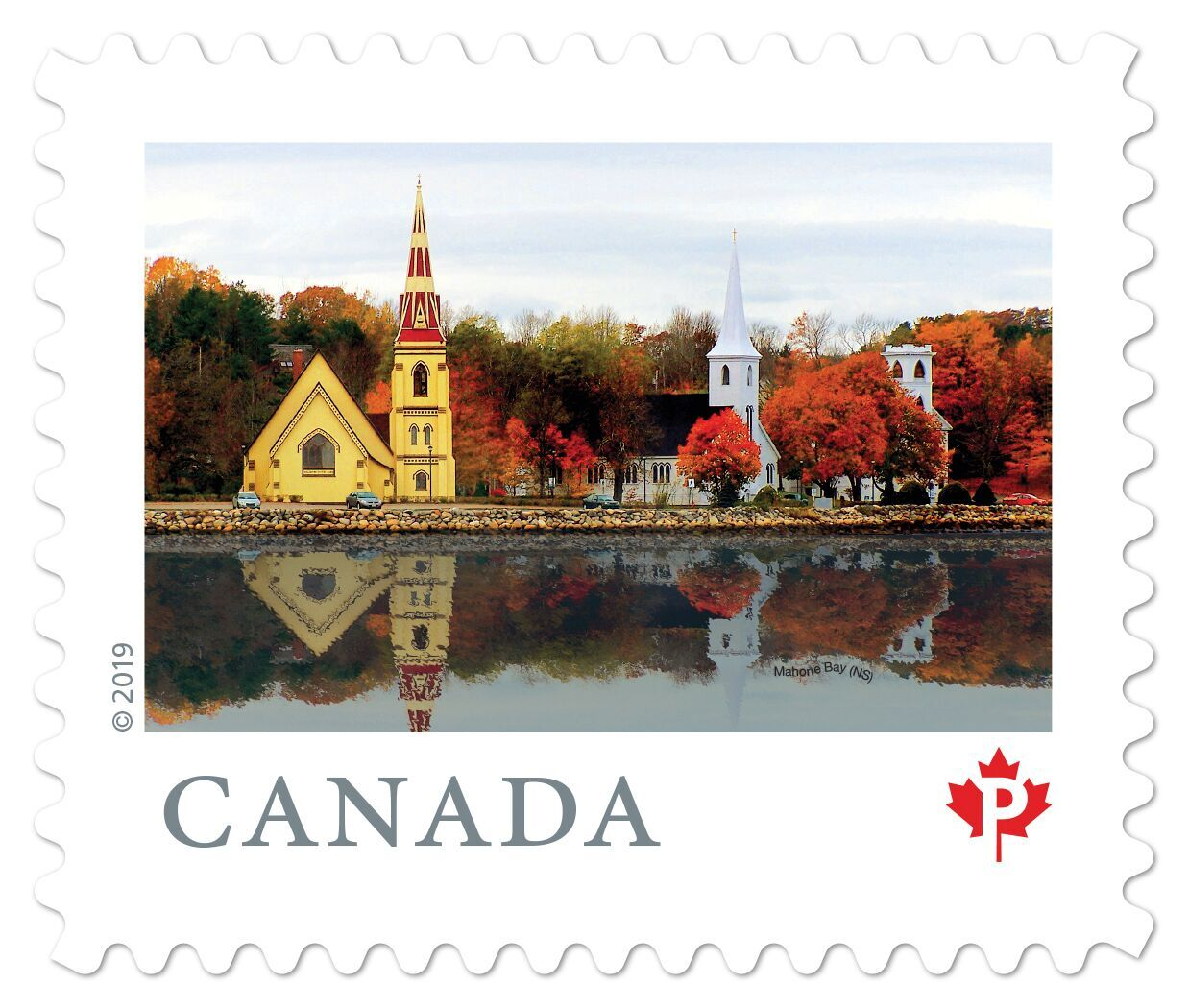 Canada - From Far and Wide (January 14, 2019) Mahone Bay, Nova Scotia (domestic P rate from booklet of 10)