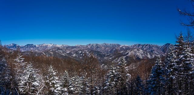 木賊山~飛龍山