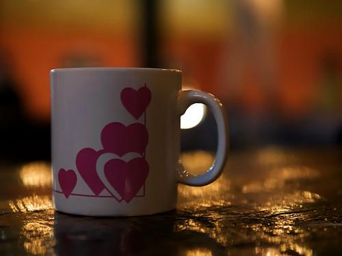 Kaffee am Abend