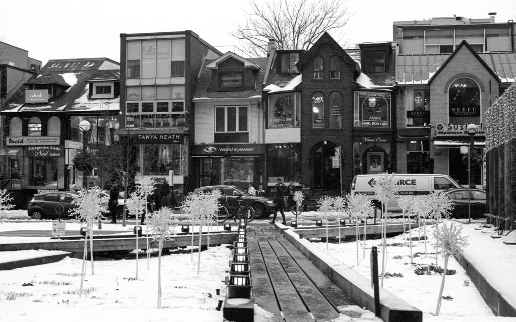 Snow Covered Yorkville Park_