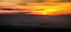 Coucher de Soleil sur le Canigou depuis le Plan de l'Aigle 09 02 2019 - Photo of Aubagne