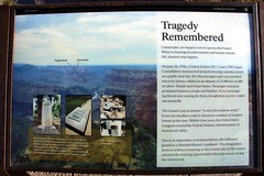 Grand Canyon TWA - United Airlines Aviation Accident Site Historical Marker (Grand Canyon National Park, Arizona)