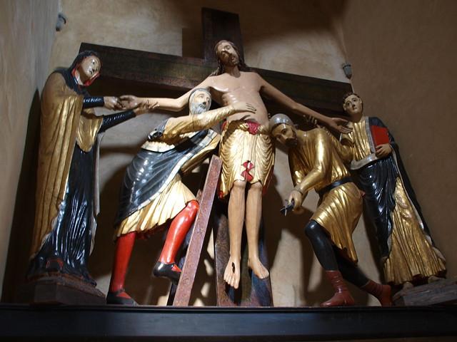 Cattedrale di Santa Maria Assunta, depostion of Christ, 1228, Volterra, Italy 2013-1