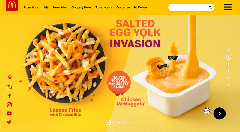 mcd salted egg york invasion