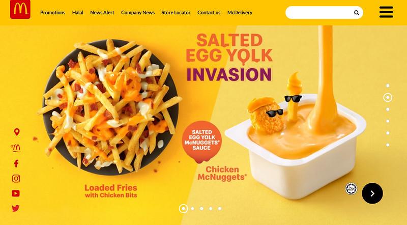 mcd salted egg york invasion